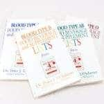 village bloomery Blood Type Booklets
