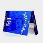village bloomery Zig Zag Blue 1 1/2