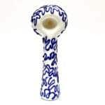 village bloomery Blue Pattern Pipe