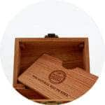 village bloomery Raw Wood Stash Box