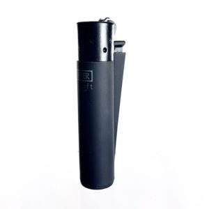 village bloomery Clipper Lighter Matte Black